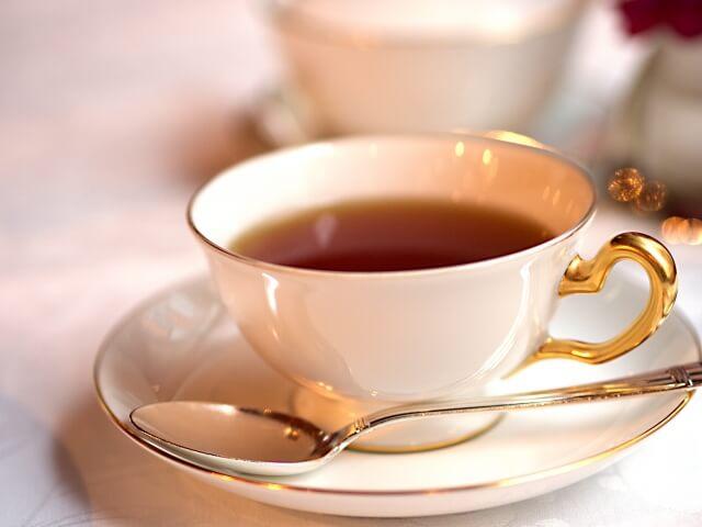 カフェインが含まれる紅茶