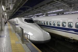 東京ー大阪間の移動手段が新幹線の場合