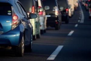 東京ー大阪間の移動手段が車の場合