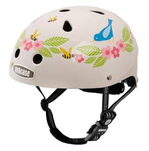 電動自転車の子ども向けヘルメットのnutcase