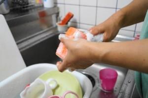 妊婦の洗い物は大変