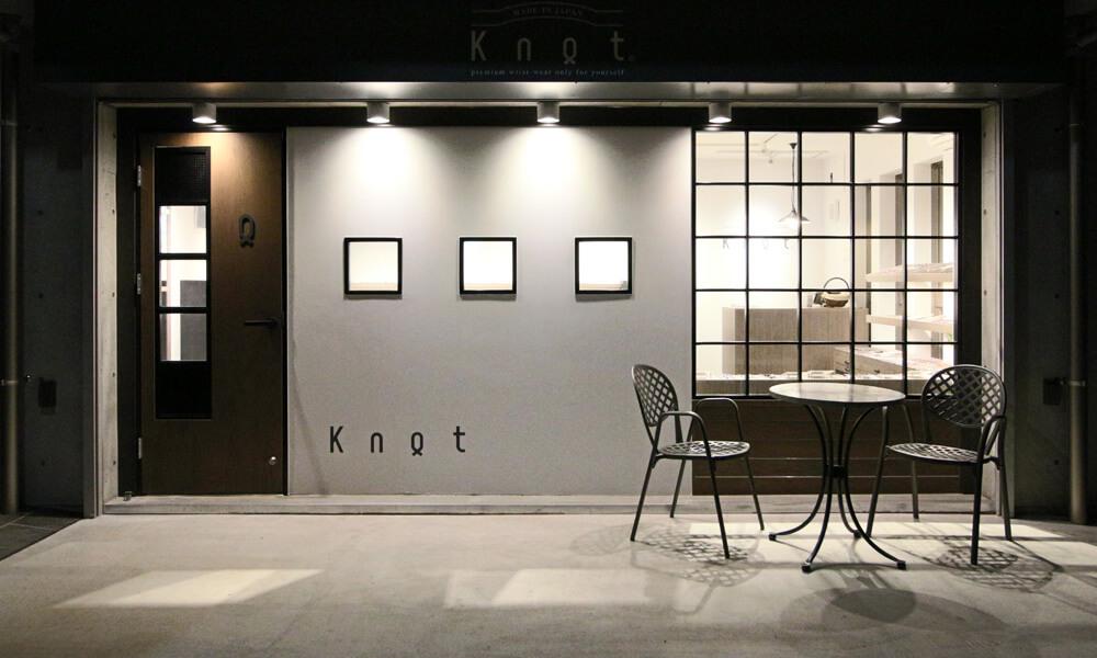 吉祥寺にあるknotの直営店