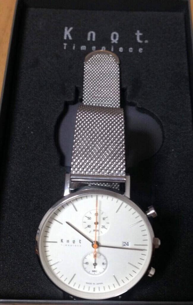 knot(ノット)の時計が組み立てた画像