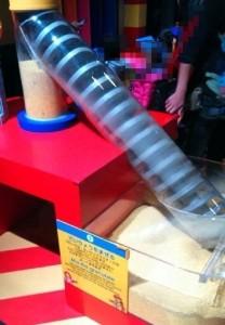 レゴを作る過程で材料を混ぜる