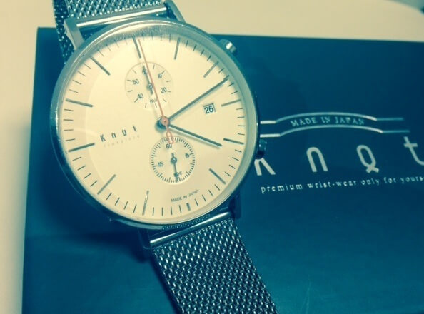 knotでカスタムオーダーの時計を作ってみた
