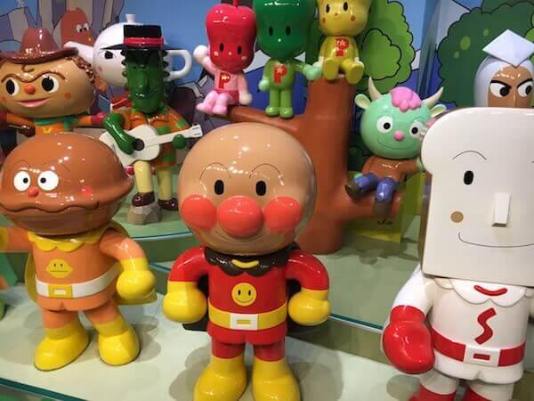 横浜アンパンマン子どもミュージアム&モールのジオラマ