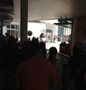 アンパンマンミュージアムの入り口