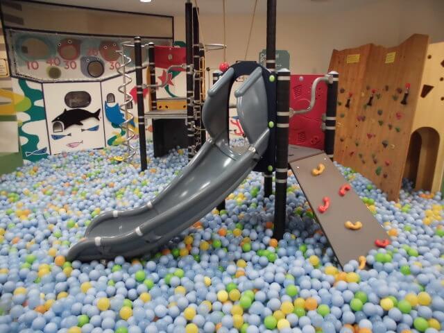 室内遊び場キドキドのボールプール