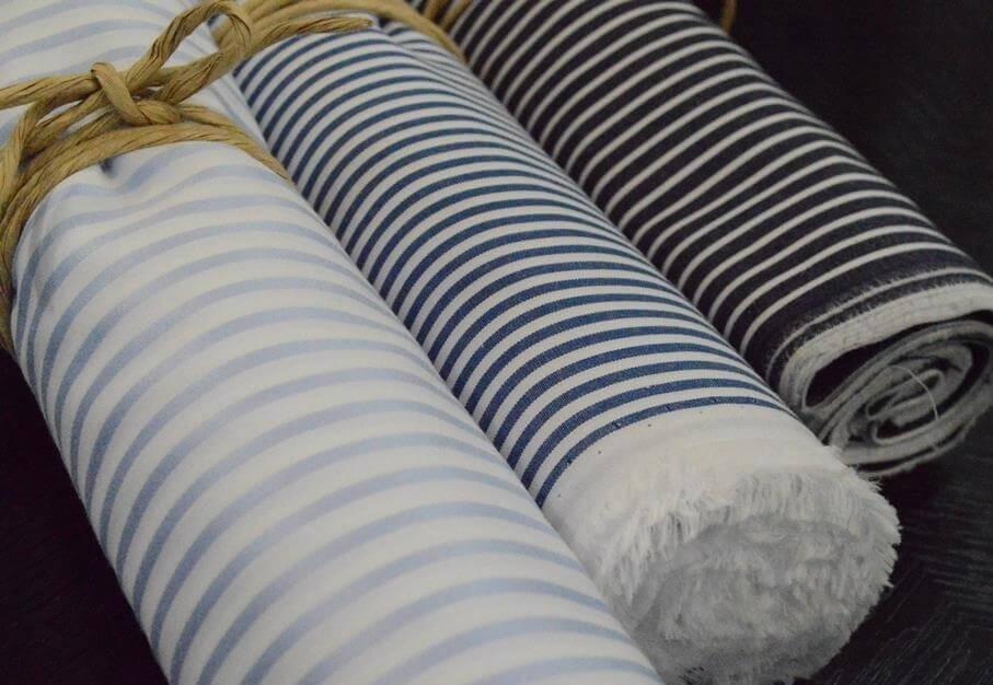 麻布テーラーのオーダーシャツの生地