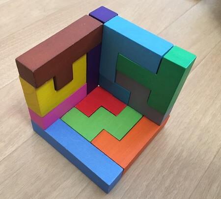 カタミノの3dパズル